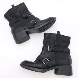 Cole Haan Nike Air Alix Moto Boots